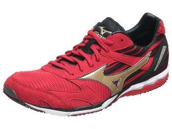 Mizuno Wave Ekiden Unisex Shoes Anthracite/Gold/Red