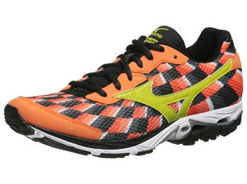 Mizuno Wave Elixir 8 Men's Shoes Orange/Lime/Anth