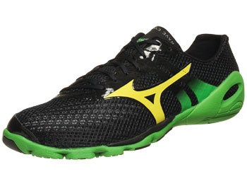 Mizuno Wave Evo Levitas Men's Shoes Anth/Yel/Grn