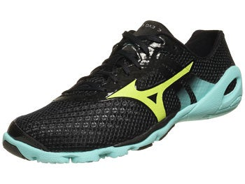 Mizuno Wave Evo Levitas Women's Shoes Anth/Lime/Bl