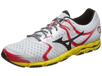 Mizuno Wave Hitogami Men's Shoes White/Black/Yellow
