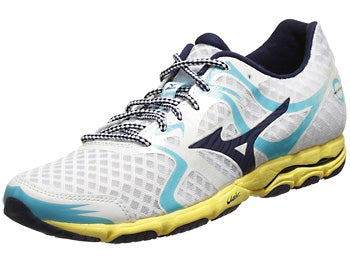 Mizuno Wave Hitogami Women's Shoes Wht/Blu/Aurora