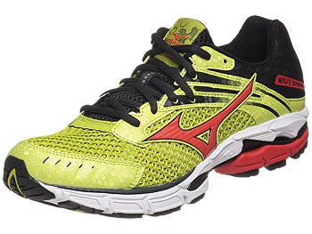 Mizuno Wave Inspire 9 Men's Shoes Lime/Orange/Anth