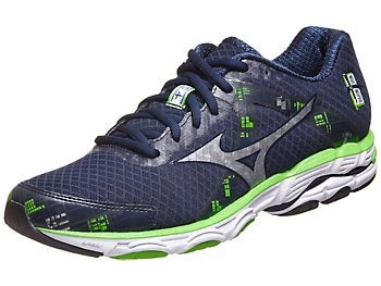Mizuno Wave Inspire 10 Men's Shoes Blue/Silver/Green