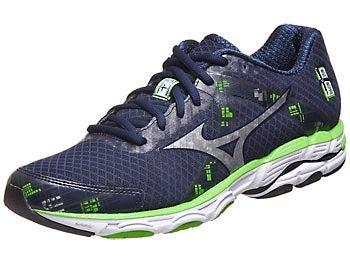 Mizuno Wave Inspire 10 Men's Shoes Blue/Silver/Green