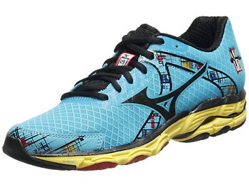 Mizuno Wave Inspire 10 Women's Shoes Aq/Blk/Aur
