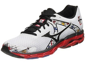 Mizuno Wave Inspire 10 Men's Shoes White/Black/Red