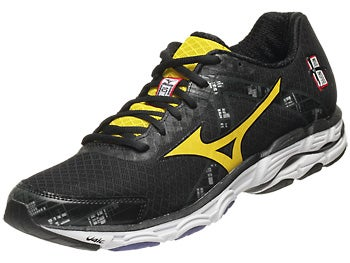 Mizuno Wave Inspire 10 Men's Shoes Blk/Yel/Blu