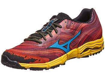 Mizuno Wave Kazan Men's Shoes Red/Blue/Yellow