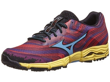 Mizuno Wave Kazan Women's Shoes Red/Blue/Purple
