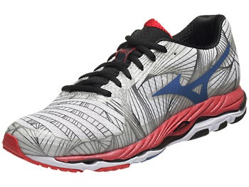 Mizuno Wave Paradox Men's Shoes White/Blue/Red
