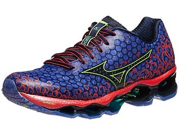 Mizuno Wave Prophecy 3 Men's Shoes Blue/Tangerine