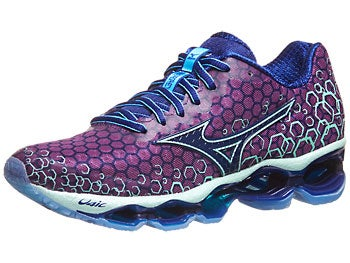 Mizuno Wave Prophecy 3 Women's Shoes Pur/Bl/Hnydw