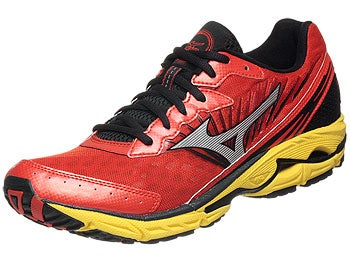 Mizuno Wave Rider 16 Men's Shoes Ora/Sil/Yell