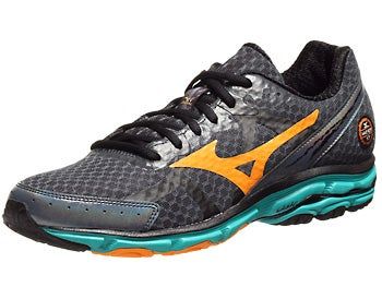 Mizuno Wave Rider 17 Men's Shoes Slate/Marigold