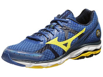 Mizuno Wave Rider 17 Men's Shoes Blue/Yellow/Blue