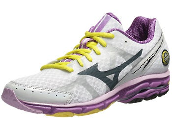 Mizuno Wave Rider 17 Women's Shoes White/Slate/Dew