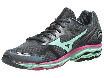 Mizuno Wave Rider 17 Women's Shoes Slate/Cab/Rose