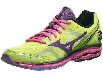Mizuno Wave Rider 17 Women's Shoes Lim/Pan/Elec