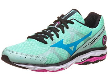 Mizuno Wave Rider 17 Women's Shoes Hnydw/Sea/Pnk