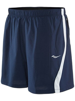 Saucony Men's Throttle Short Navy/White