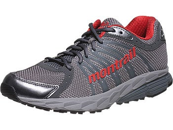 Montrail FluidBalance Men's Shoes Light Grey/Sail Red