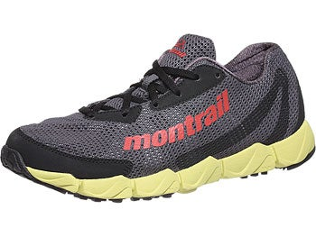 Montrail FluidFlex Men's Shoes Coal/Sail Red