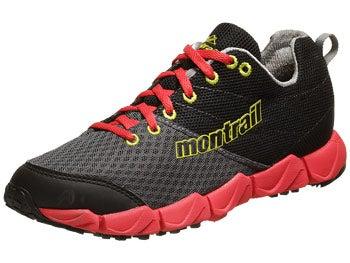 Montrail FluidFlex II Women's Shoes Grill/Chartreuse