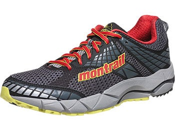 Montrail FluidFeel Men's Shoes Coal/Sail Red