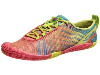 Merrell Vapor Glove Women's Shoes Paradise Pink/HighViz