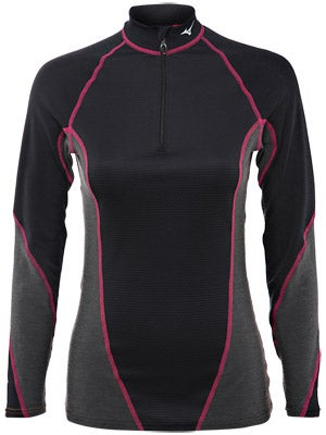 Mizuno Women's Breath Thermo Stretch 1/2 Crew