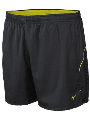 Mizuno Men's Mustang 4.5 Short Black & Olymp Blue
