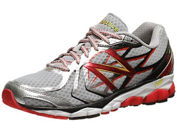 New Balance 1080 v4 Men's Shoes Silver/Red