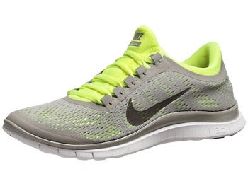 Nike Free 3.0 v5 Women's Shoes Grey/Volt
