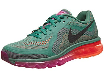 Nike Air Max+ 2014 Women's Shoes Jade/Magenta/Orange