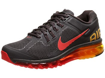 Nike Air Max+ 2013 Men's Shoes Charcoal/Orange/Red