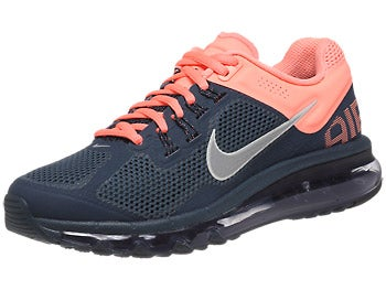 Nike Air Max+ 2013 Women's Shoes Navy/Pink/Silver