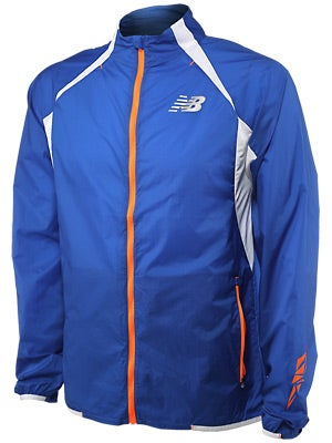 New Balance Men's Boylston Jacket Colbalt & Yellow