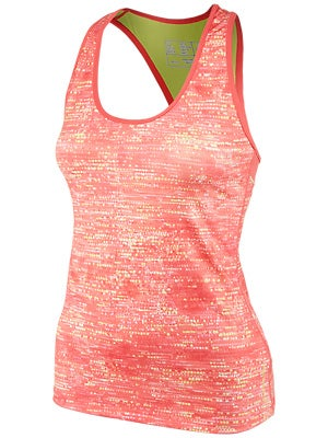 New Balance Women's Get Back Racerback Blk & Watermelon