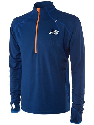 New Balance Men's Boylston Half Zip Colbalt