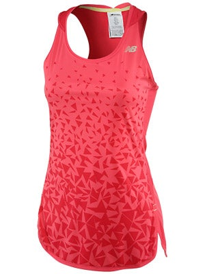 New Balance Women's Impact Tunic Tank Watermelon