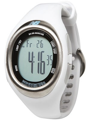 New Balance Women's N4 Heart Rate Monitor Pearl White
