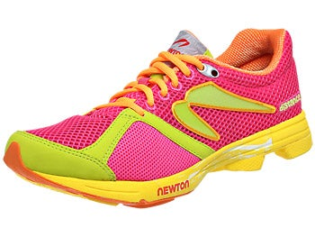 Newton Distance U 2013 Women's Shoes Pink/Lime