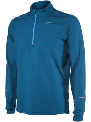 Nike Men's Element Half-Zip Abyss & Crimson