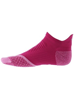 Nike Elite Running Cushion No Show Tab Socks Magenta