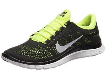 Nike Free 3.0 v5 Men's Shoes Black/Volt