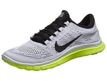 Nike Free 3.0 v5 Men's Shoes White/Black/Volt