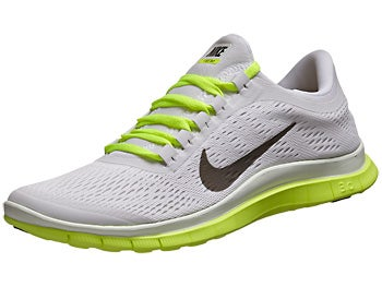 Nike Free 3.0 v5 Women's Shoes White/Black/Volt