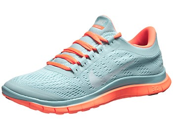 Nike Free 3.0 v5 Women's Shoes Glacier Ice/Wh/Orng