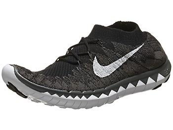 Nike Free 3.0 Flyknit Women's Shoes Black/Fog/Volt